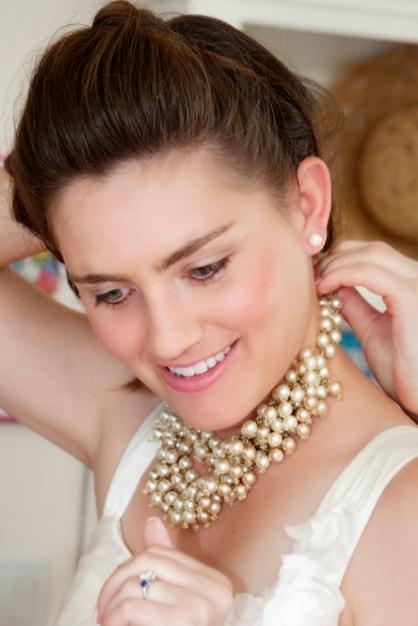Her wonderful pearls
