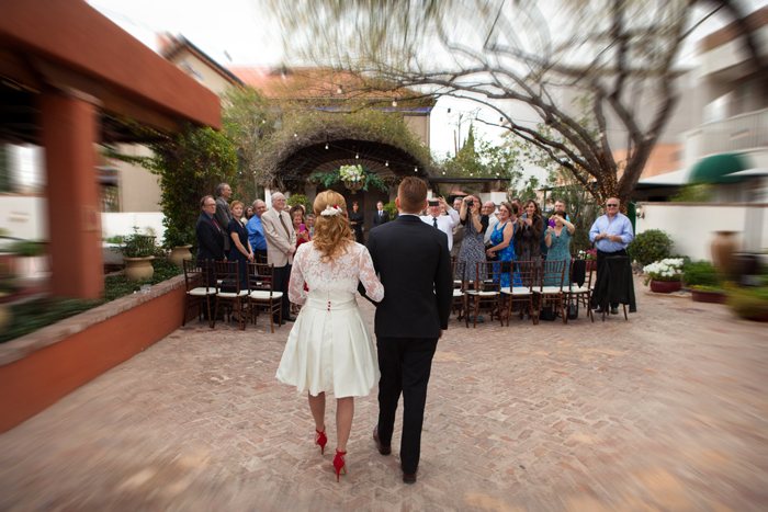 into ceremony