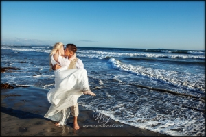 My favorite shot from Brooke and Christian on Coronado island!